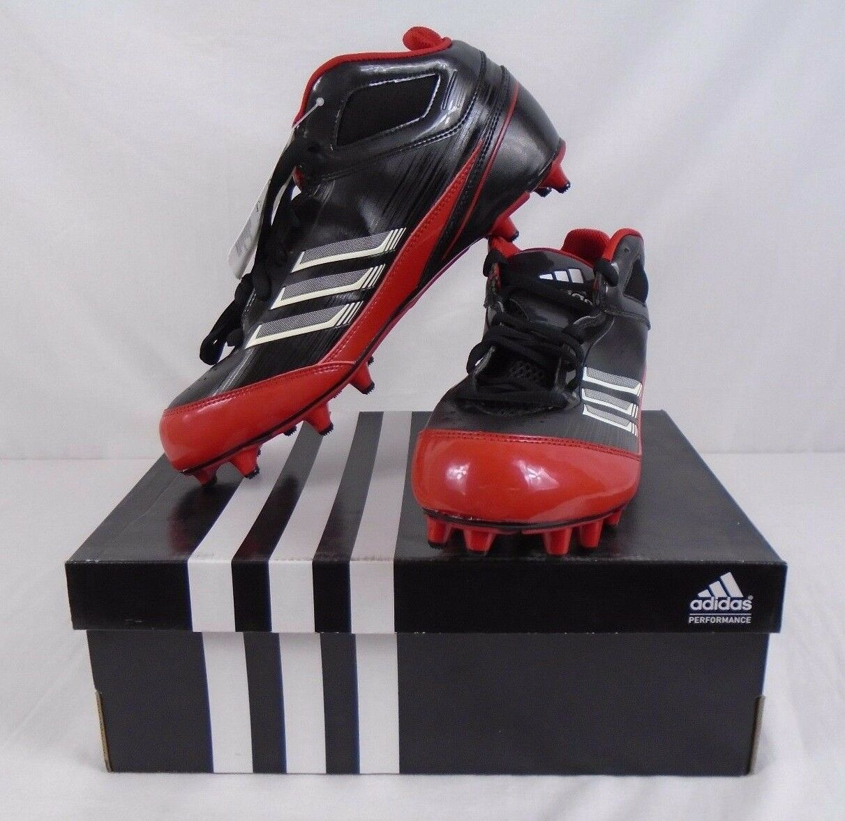 Adidas AS Cleats SMU Scorch X FLy Mid NC Men Football Cleats AS Sz 13.5 1100F 3736a9