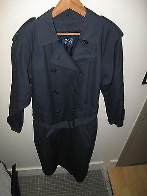 Continental Airlines Coat - Vintage 1997 Stewardess Flight Attendant Overcoat 8T
