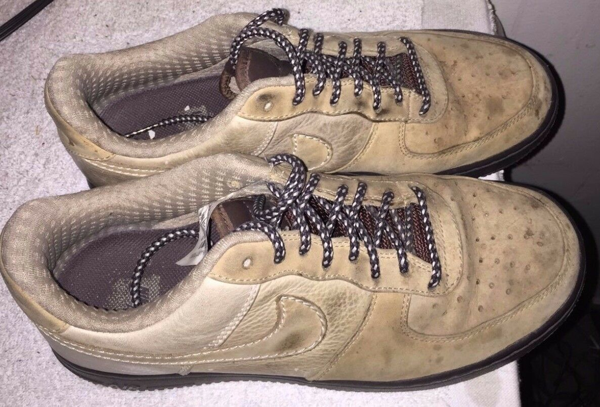 nike af1 brown SIZE 8  Cheap and fashionable