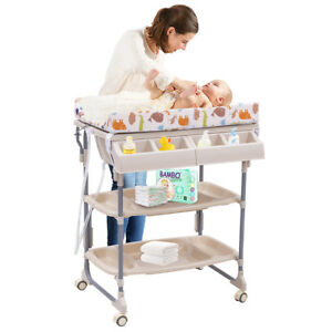Image Is Loading 2 IN 1 Baby Changing Table Bath Tub