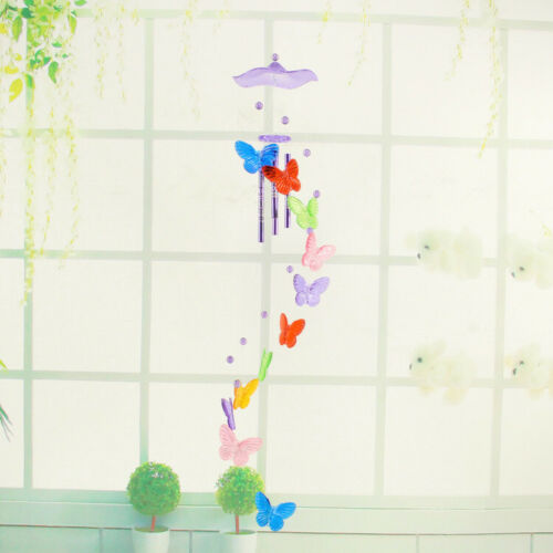 Wind Chimes Garden Decor Home Yard Butterfly Bell Wind Chime Creative Outdoor