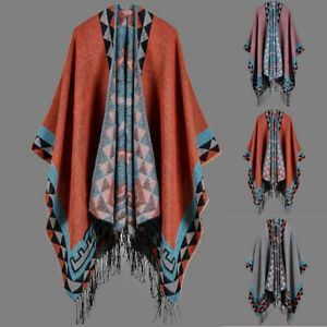Women-Winter-Knitted-Coat-Sweater-Cashmere-Poncho-Capes-Shawl-Cardigans-Scarf
