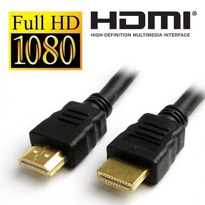 1.5mt Full Hd Tv Cavo Hdmi 1080p Piombo Ad Alta Risoluzione 3d 150cm 1.4v Retail Pack-