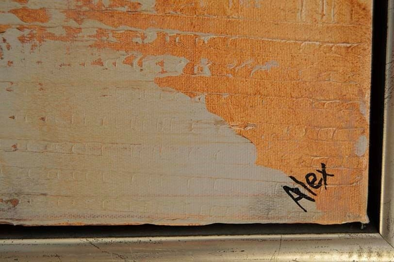 Akrylmaleri, Alex, motiv: Religiøs/Spirituel