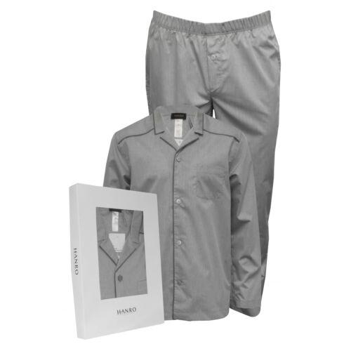 tissé jacquard longues Ensemble motif Hanro à homme argenté de Sky manches pyjama pour wZPWPq4TFI