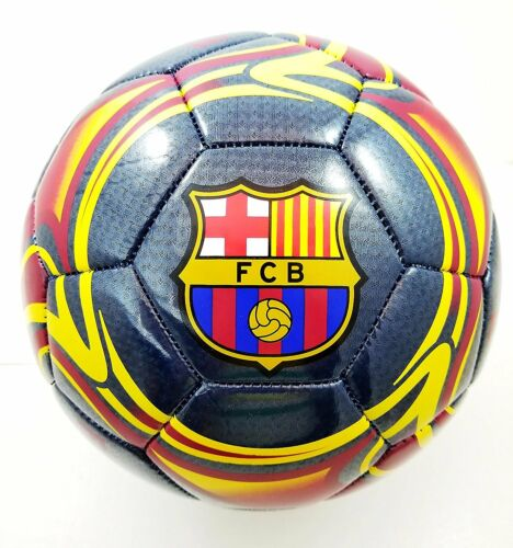 FC Barcelona Authentic Official Licensed Soccer Ball Size 5-05-4