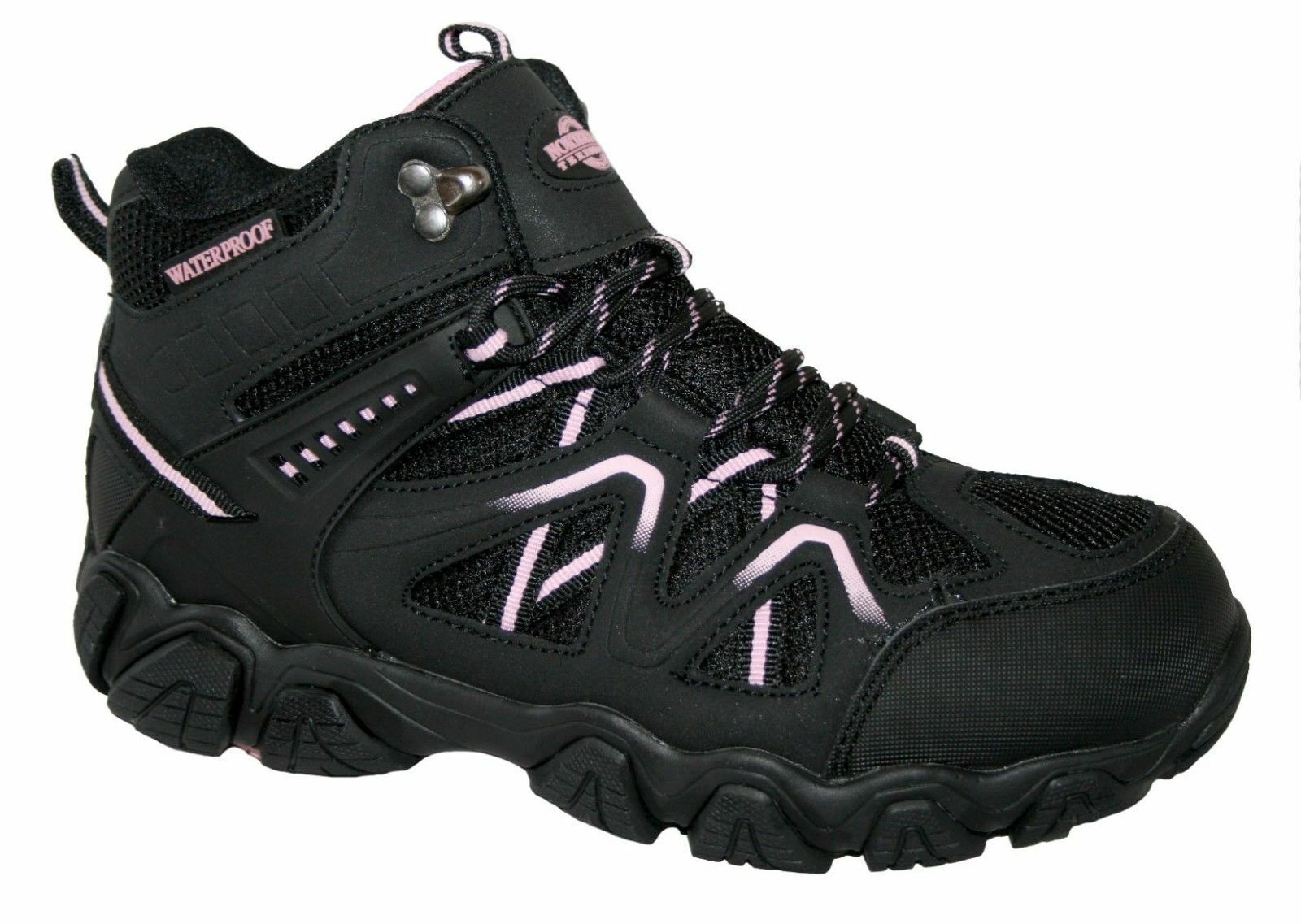 Northwest Territory Ladies Women's Waterproof Leather Walking Hiking Ankle Boots
