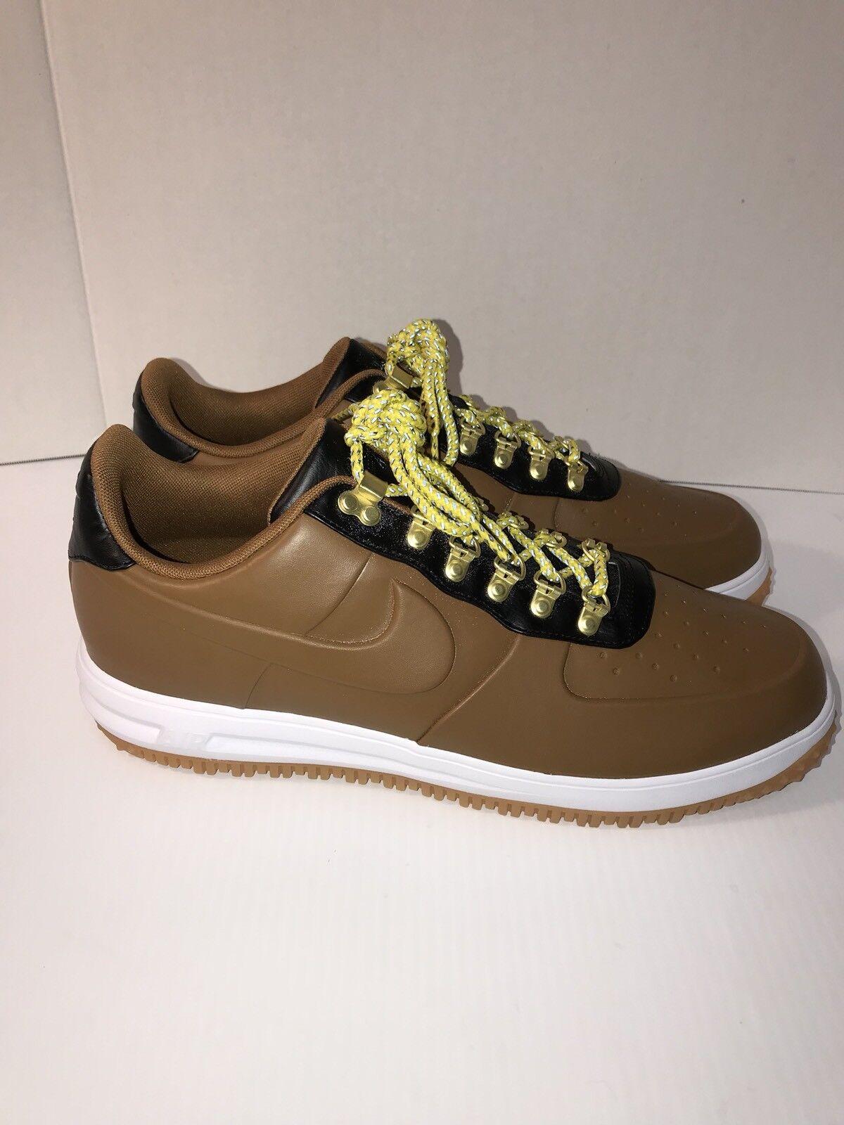 Mens Nike LF1 Duckboot Low  AA1125-200 Ale Brown Brand New Size 14