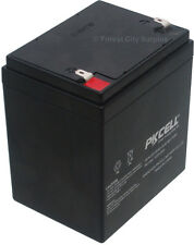 PKCELL PK1250 12V/5AH Rechargeable Sealed Lead Acid Gel Cell Batteries