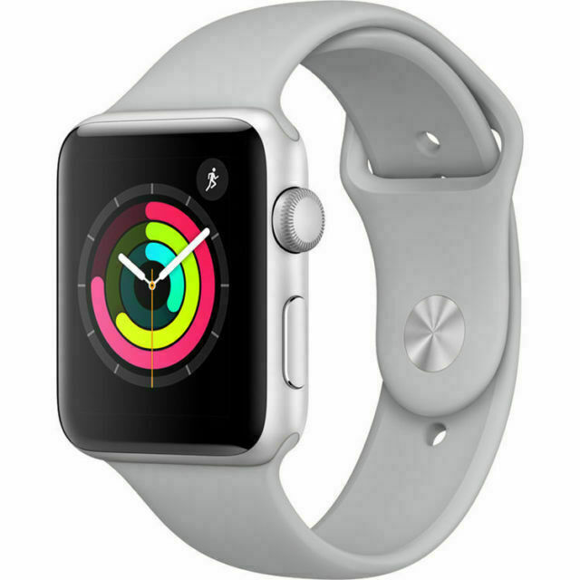 Apple Watch Series 3 Gps 42mm Aluminum Case Silver Aluminum Smartwatch Mql02ll A For Sale Online Ebay