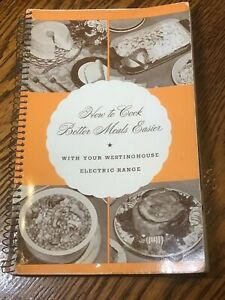 Vintage Westinghouse Advertising Recipe Book Electric Stove 1940