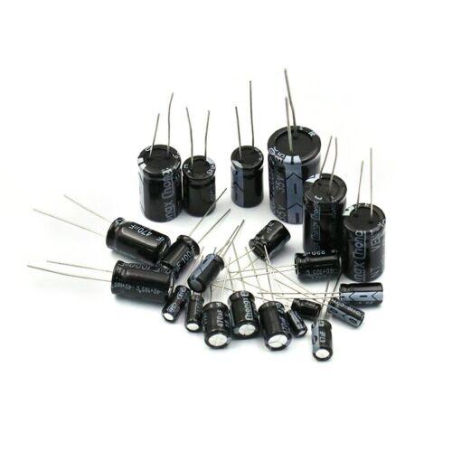120 Elektrolyt Kondensator Sortiment 1-220 µF für z.B Arduino Raspberry Pi