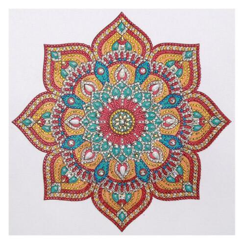 5D DIY Special Shaped Diamond Painting Mandala Cross Stitch Mosaic Home Kit Gift