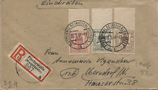 Lokal Finsterwalde 7, 9 + 11 R-Brief nach Oberndorf Zensur BPP-geprüft (B06316)