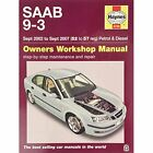 Saab 9-3 Service and Repair Manual by Haynes Publishing Group (Paperback, 2015)