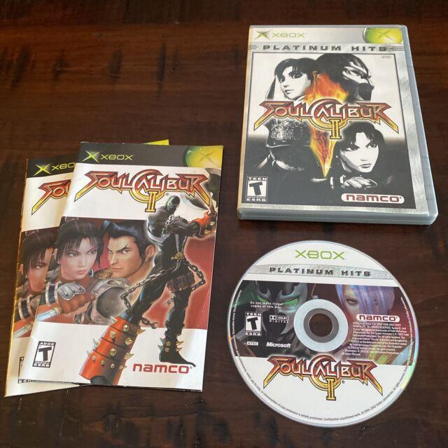 Soul Calibur II 2 - PLATINUM HITS (Microsoft Xbox, 2003) Complete - Ships Free