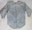 Vintage-3X-Monique-Fashions-Acid-Wash-Denim-Top-with-Baubles-and-Rhinestones thumbnail 4