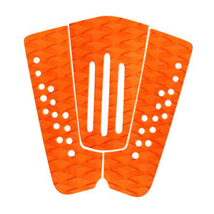 f994fee191 Details about 3Pcs Surfboard Traction Tail Pad Skimboard Shortboard Surf  Deck Grip Orange