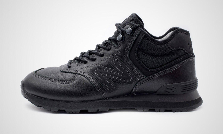 Nuevo equilibrio MH574OAC negro, zapatillas de hombre, nuevo en caja