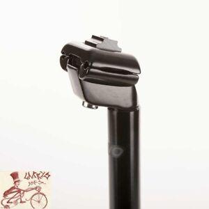 EVO KALLOY 25.8 mm X 400 mm noir Micro-Ajustement Vélo Bmx Mountain Vélo Route Tige de selle-afficher le titre d`origine rvS3YJqU-07162736-893217587