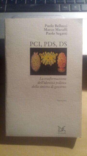 LIBRO PCI PDS DS BELLUCCI MARAFFI SEGATTI DONZELLI 2000 9788879895477