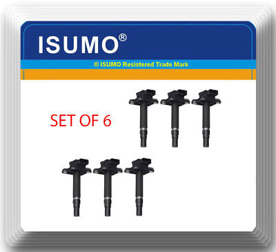 SET OF 6 Ignition coil with connectors for Audi A4 A6 Quattro 3.0L V6 UF483