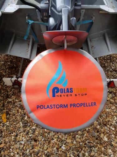 "12/"" to 14.5/"" diameter propeller New Boat /& RIB Hi Vis Polastorm Propeller Bag"