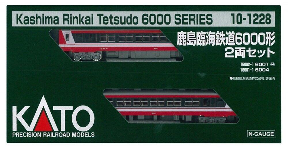 Kato 101228 Kashima Rinkai Tetsudo Serie 6000 2 Auto N Scala Set