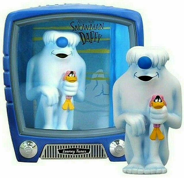 Looney Tunes DAFFY DUCK & ABOMINABLE SNOWMAN  figura PVC 16cm Funko