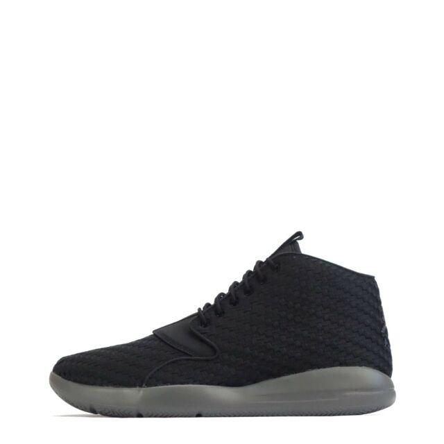 7e6eb4ddb13ab4 Nike Jordan Eclipse Chukka Air Black Grey Men Basketball Shoe ...
