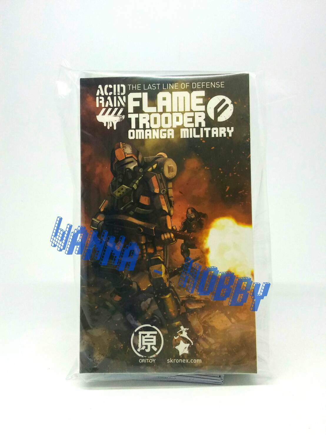 50633 IN STOCK ORITOY Acid Rain Flame Trooper 1:18 MISB