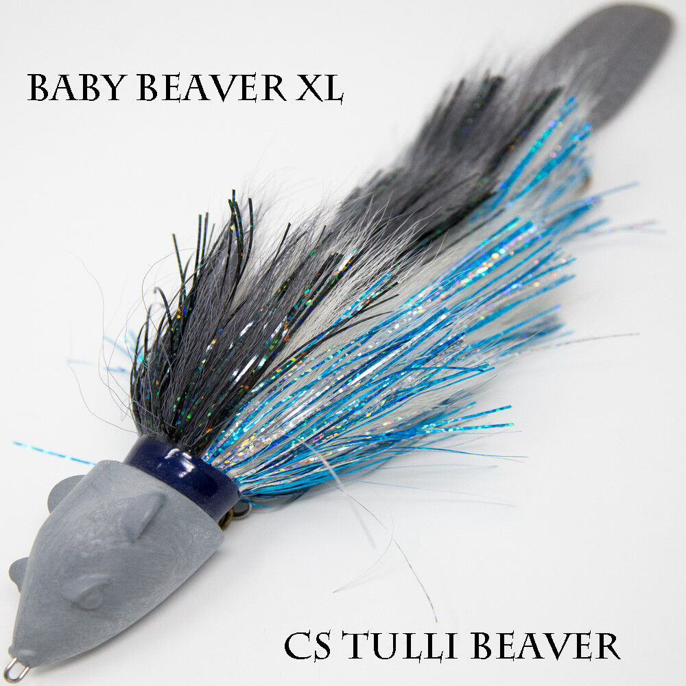 Baby Beaver XL Beavers Baits Musky Lure Jerkbait Swimbait Muskies Pike Northern