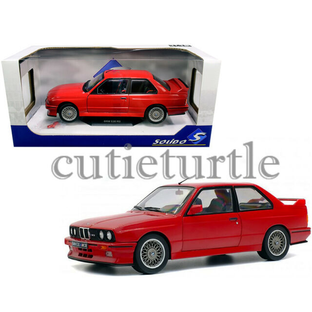 1992 bmw m3 e30 dtm model car 1 18 scale by minichamps 180922042 for sale online ebay solido 1990 bmw m3 e30 1 18 diecast model car red s1801502