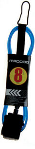 Surf-Board-Leg-Rope-Legrope-Cord-8-039-Brand-New-Competition-Leash-MADDOG
