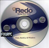 Redo Back Up Clone Backup,restore, Partition Your Hard Drive, Simple To Use Easy