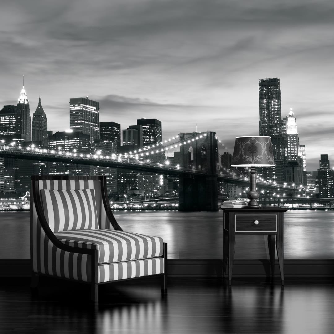 VLIES FOTOTAPETEN TAPETEN FOTOTAPETE  TAPETEN  FOTONEW YORK MANHATTAN 3FX011VE