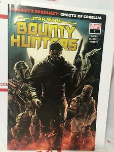 Marvel-ComicsStar-Wars-Bounty-Hunters-1-HTF-Walmart-Exclusive-Gold-Logo-Variant