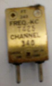 7375 KHz FT-243 Crystal for 29.5 MHz amateur 10 meter band