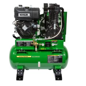 John Deere Air Compressor >> John Deere 30 Gallon Air Compressor Ac2 30kds Ebay