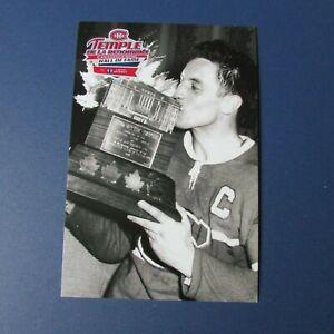 JEAN-BELIVEAU-Montreal-Canadiens-postcard-Hall-of-Fame-Loto-Quebec-Conn-Smythe