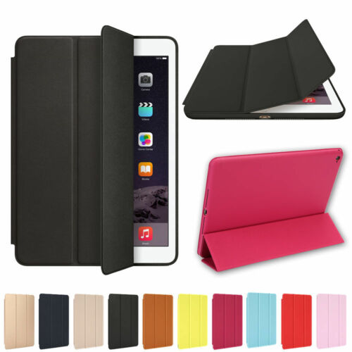For Apple iPad 6th Generation 9.7 Slim Magnetic Silicone Smart Cover Case