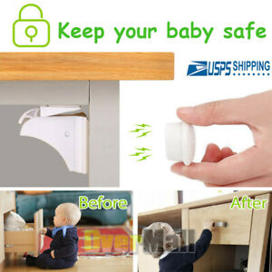 Eco-Baby-4-20Packs-Safety-Magnetic-Cabinet-and-Drawer-Locks-for-Proofing-Kitchen