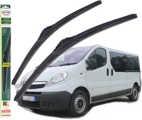 Vauxhall Vivaro wiper blades HEYNER HYBRID 24 21 FRONT 2001-2014