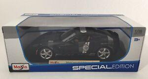 1-18-Maisto-2014-Corvette-Stingray-Police-Car-Special-Edition-NIB