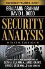 Security Analysis: Principles and Technique by Benjamin Graham, David Dodd, Seth A. Klarman (Mixed media product, 2008)
