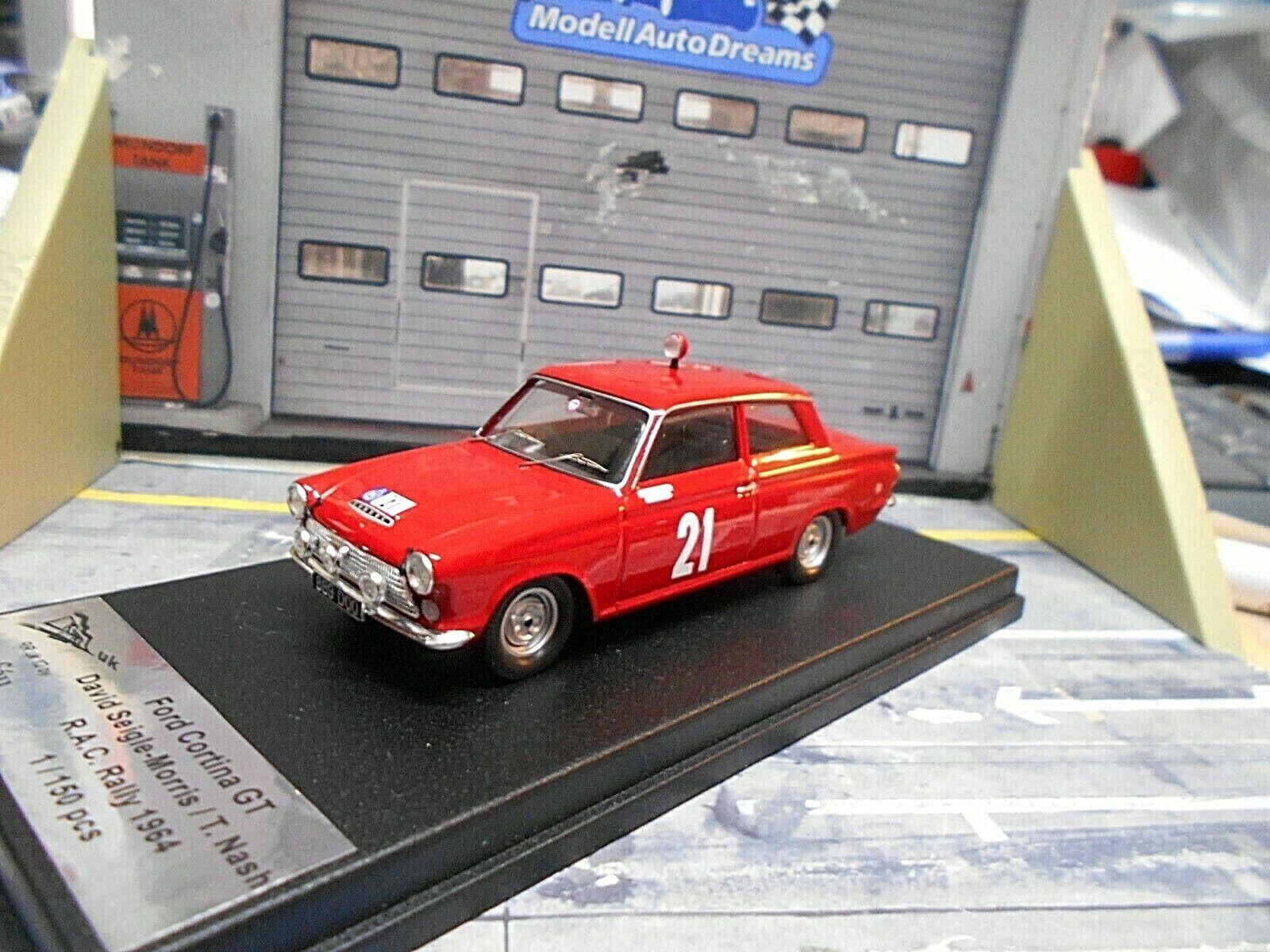 Ford Cortina GT Rally RAC 1964  21  Morris nnash Scala 43 1 150 Trofeu 1 43  choix à bas prix