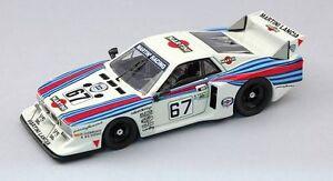 Lancia Beta Montecarlo # 67 47th Lm 1981 Gabbiani / Pirro 1:43 Modèle Meilleurs modèles