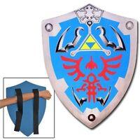 Legend Of Zelda Link Hylian Hyrule Triforce Foam Shield Larp 56y