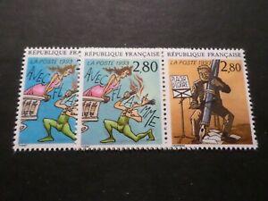 FRANCE 1993, VARIETE COULEURS, timbres 2840/2841, ECRIRE, BD, neufs**, MNH