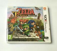 THE LEGEND OF ZELDA TRI FORCE HEROES NUEVO 3 DS PAL ESPAÑA NINTENDO 3DS TRIFORCE